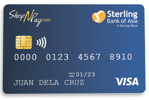 ShopNPay Visa Debit Card